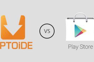 Diferenças entre o Aptoide e Play Store